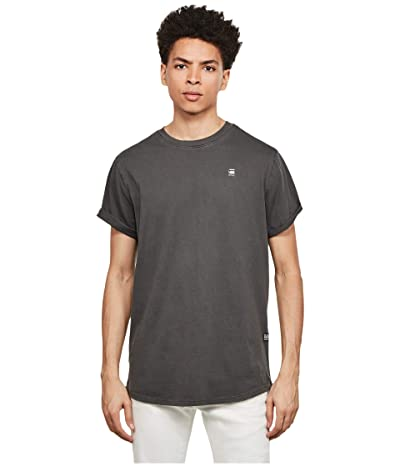 G-Star Lash Round Neck T-Shirt (Raven) Men