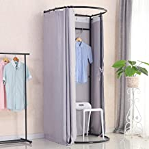 Floor-standing Fitting Room In Clothing Store Mobile Changing Room Thickened Fabric, Shading Rate 90% Large Space, Simple ...