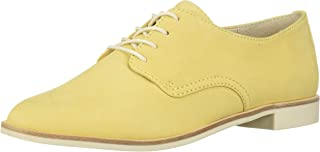 Dolce Vita Women's Kyle Oxford, Yellow Nubuck, 6 M US