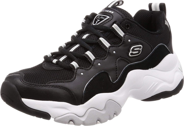 Skechers D'lites 3.0 Mens Sneakers Black