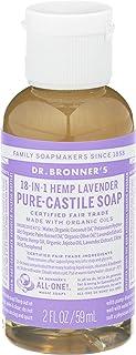 Dr. Bronner's Pure-Castile Liquid Soap – Lavender - 2 Ounce