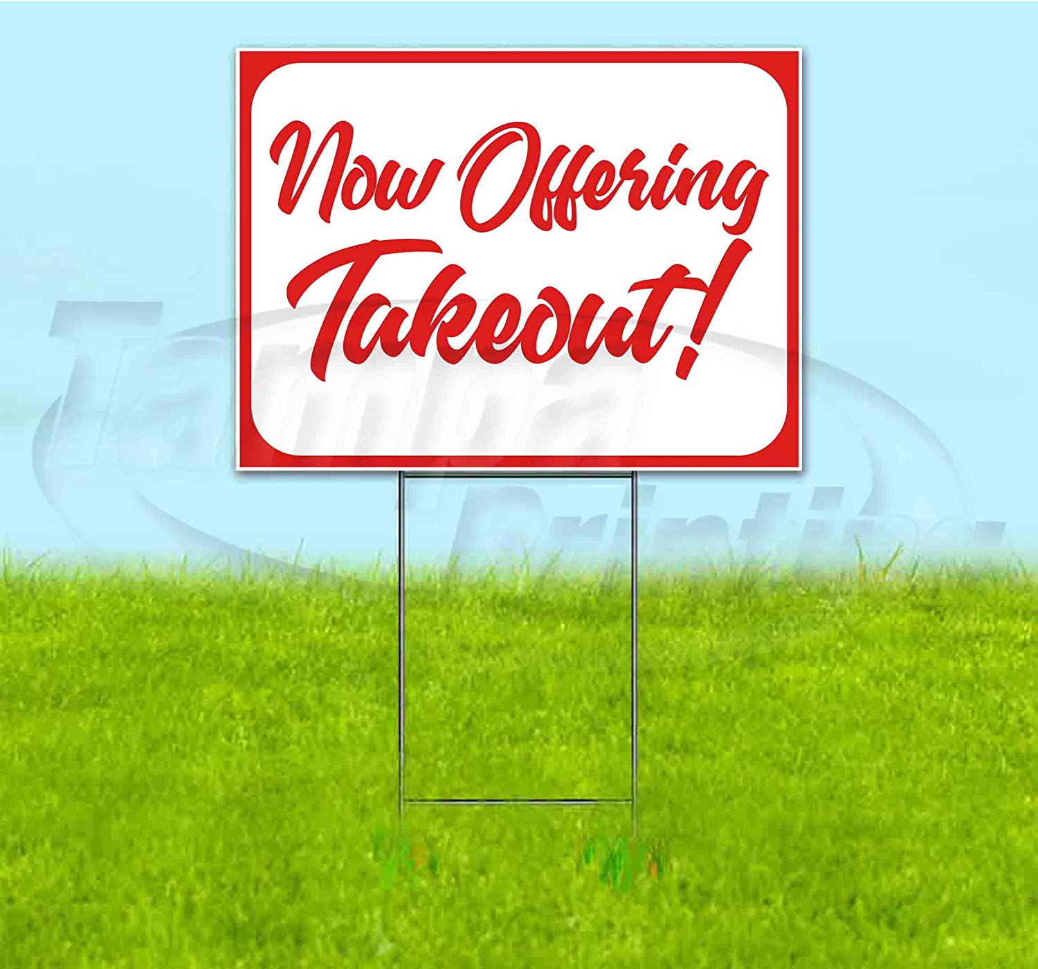 Now Offering Takeout 18