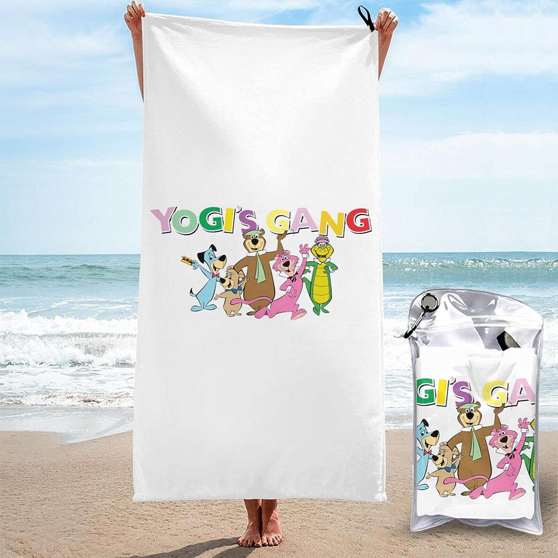 Purada Direct stock discount Y-Ogi Bear Microfiber Swimming Oversized Towel Pool Bath Sale SALE% OFF