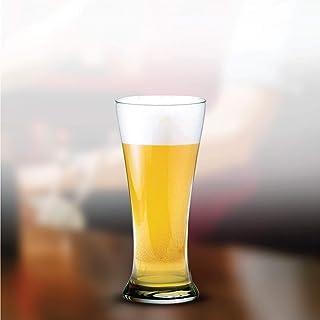 Ocean Pilsner Beer Glass, Pack of 3, Clear, 400 ml, B0091403