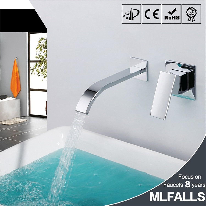 Lvsede Bad Wasserhahn Design Küchenarmatur Niederdruck Keramikventil Aus Verchromtem Messing Mit Warm- Und Kaltwasser-Waschtischmischer G2227
