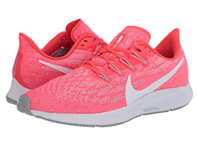 Nike Air Zoom Pegasus 36 (Laser Crimson/White/Light Smoke Grey) Men