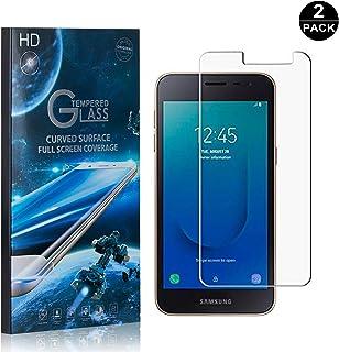 Galaxy J4 Core Screen Protector UNEXTATI Premium HD Anti Scratch Tempered Glass Screen Protector Film for Samsung Galaxy J4 Core 2 Pack