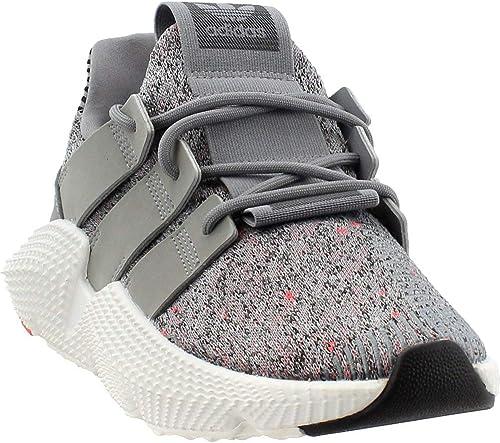 Adidas - Prophere da Uomo, (grigio Three Footwear bianca-Solar rosso), 44.5 EU