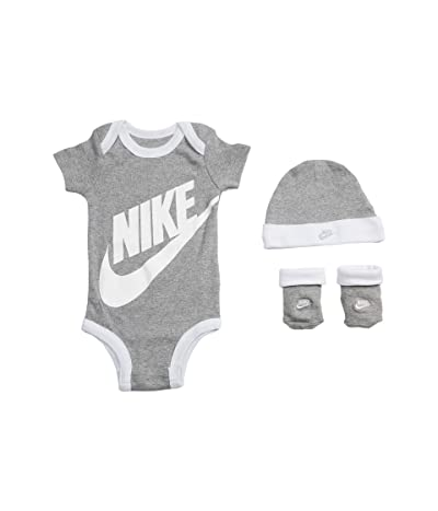 Nike Kids Bodysuit, Hat and Booties Three-Piece Gift Box Set (Infant)