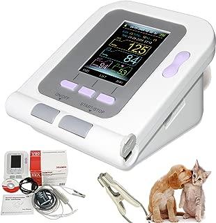 Cat/Dog/Animal/Vet Automatic Blood Pressure Monitor Electronic Sphygmomanometer Tonometer SPO2 Tongue Probe PC Software CONTEC08A-VET