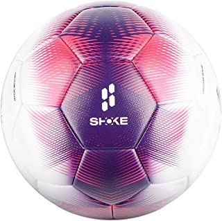 SHOKE Soccer Ball Size 5 Thermal Bonded Official Size...