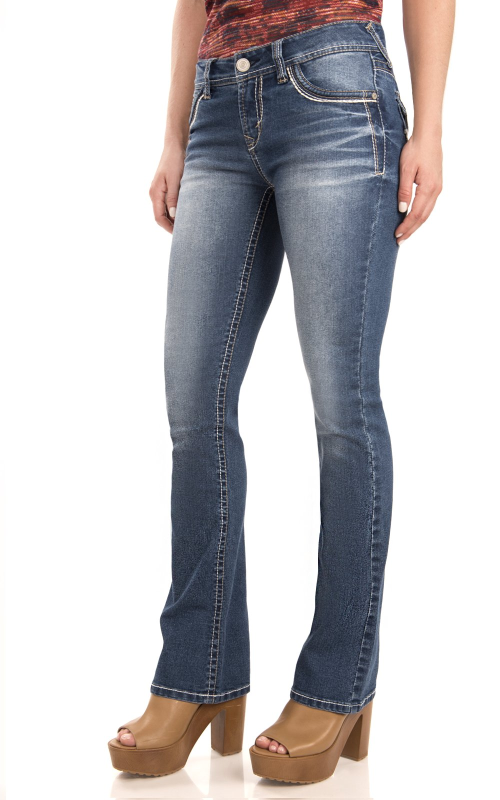 Plus Size Clothing - Women's Plus Size Sculpting Slim Fit Skinny Leg Pull On Jean