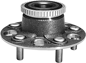 TUCAREST 512179 Rear Wheel Bearing and Hub Assembly Compatible With 1998 1999 2000 2001 2002 Honda Accord (V6 3.0L;Rear Break:Disc 4-Wheel ABS Models Only) 99-03 Acura TL [5 Lug W/ABS]