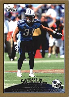2009 Topps Gold #182 Cortland Finnegan /2009 - Football Card