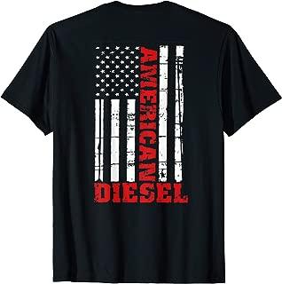 American Diesel Flag T-Shirt Truck Turbo Brothers