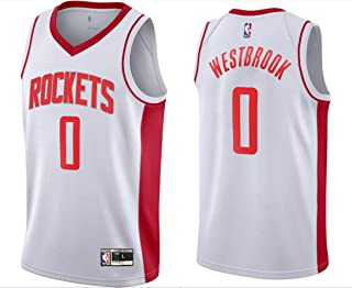 Outerstuff Youth Kids 0 Russell Westbrook Houston Rockets Jersey White Size 14-16 L