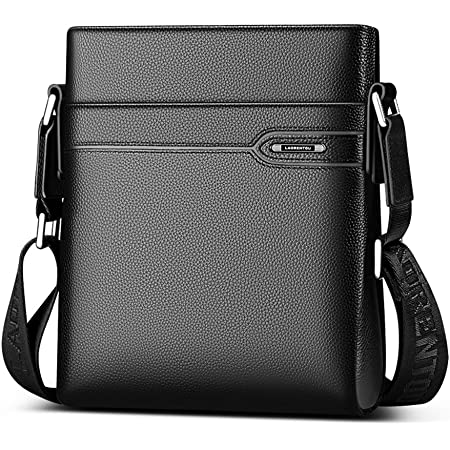 US Men/'s Leather Messenger Bags Briefcase Shoulder Bag Crossbody Tote Handbag