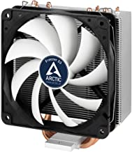 Arctic Freezer 33 – Semi Passive Tower CPU Cooler for Intel 115X/2011-3 and AMD AM4 with 120 mm PWM Fan, Silent High Performance Cooler Up to 150W TDP – Grey/Black