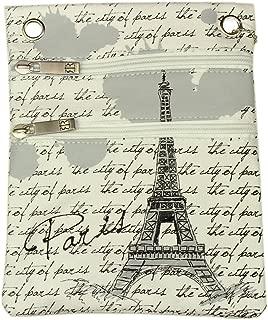 Paris Robin Ruth Passport Bag - White