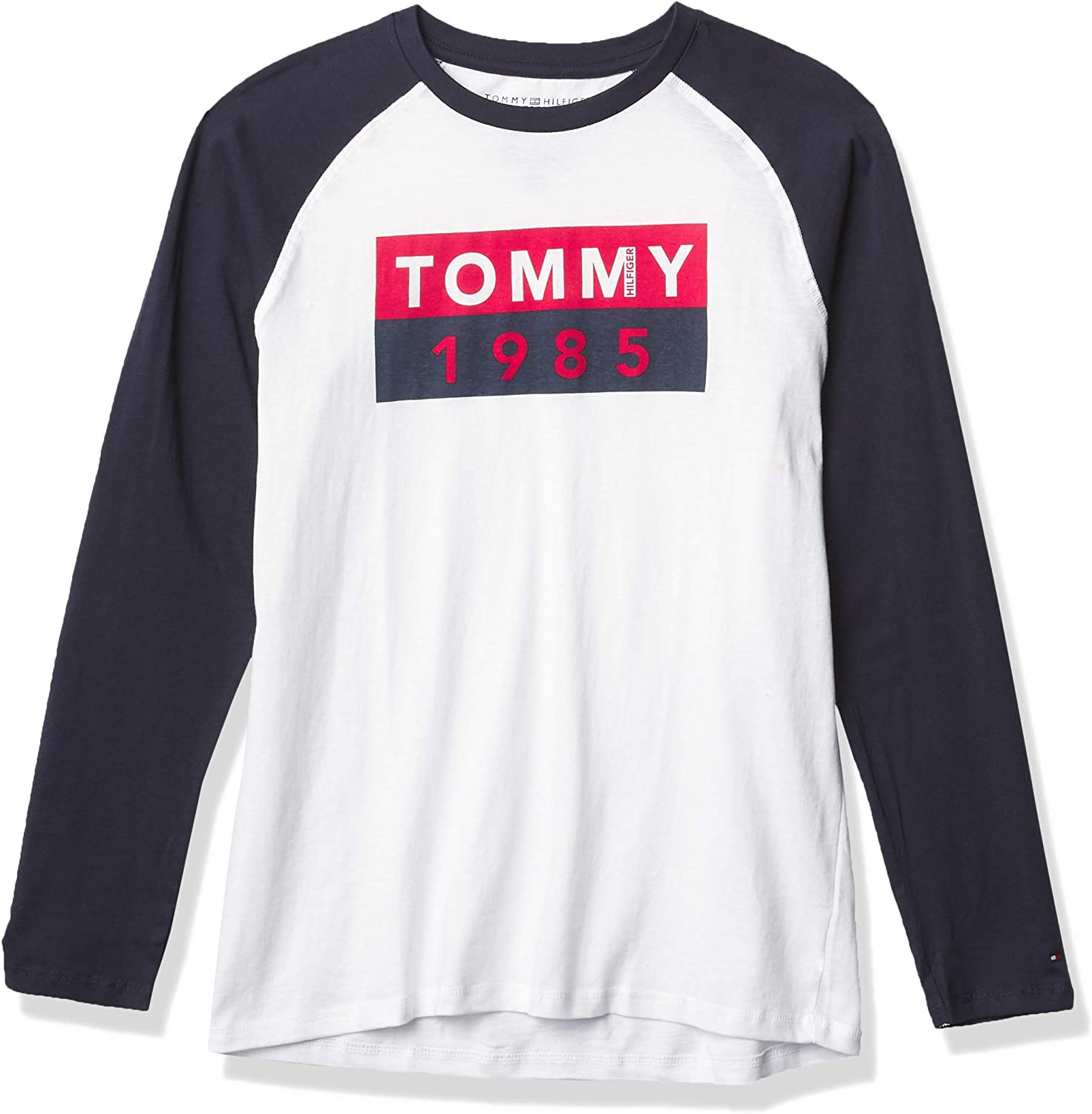 5% OFF Tommy Hilfiger Boys' Long Abstract Flag Sleeve Reservation T-Shirt