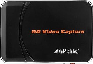 AGPtEK ゲームキャプチャー*ゲームレコーダー ビデオキャプチャー*ビデオレコーダー 1080p対応小型ビデオキャプチャーデバイス 実況音声の追加や編集!(日本語取扱説明書付き) VG0019s