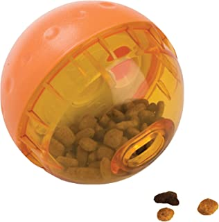 OurPets IQ Treat Ball Interactive Dog Toys (Slow Feeder, Dog Puzzle Toys,Treat Dispensing Dog Toys, Alternative to Snuffle Mat)[Perfect Dog Gifts, Dog Toys for Large Dogs & Small Dogs] Colors May Vary