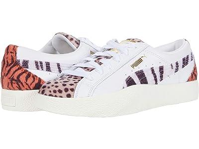 PUMA Love Wild Cats (Puma White/Pale Khaki) Women