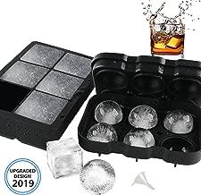 round ice block maker