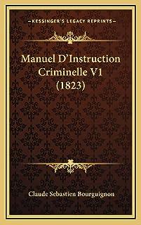 Manuel D'Instruction Criminelle V1 (1823)