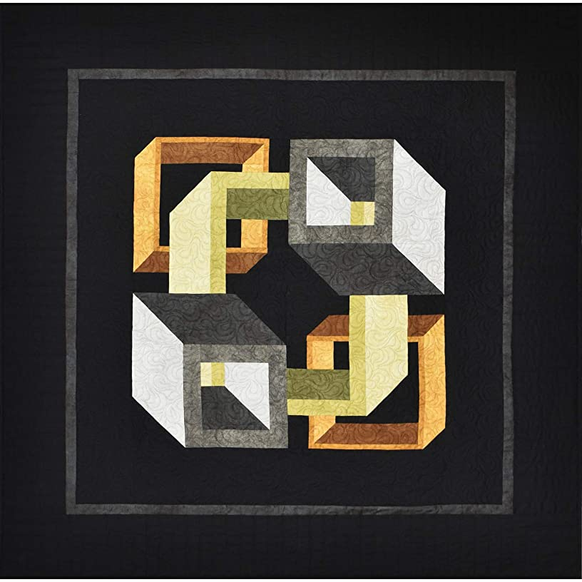 Shadow Play Passages Neutral Quilt Kit Maywood Studio