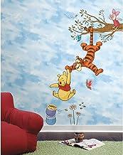 RoomMates RM - DISNEY Winnie Puuh snap de honing muursticker, PVC, kleurrijk, 48 x 13 x 2,5 cm