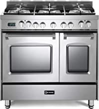 Best 5 burner gas stove double oven Reviews