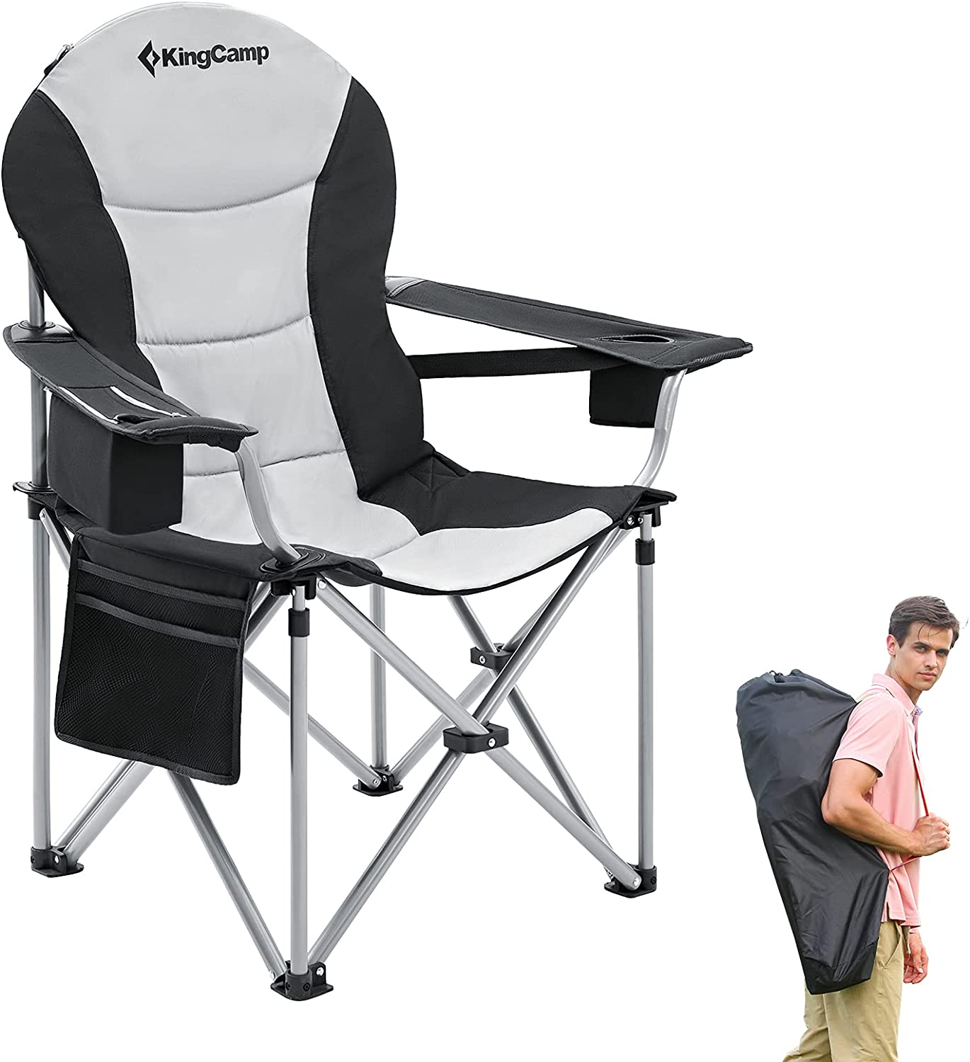 KingCamp Lumbar Support Camping overseas Chair for Padd Duty Now on sale Adults Heavy