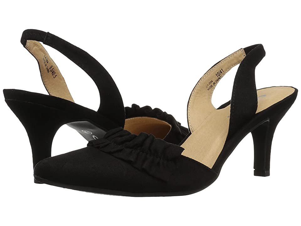 CL By Laundry Emilia (Black Super Suede) Women