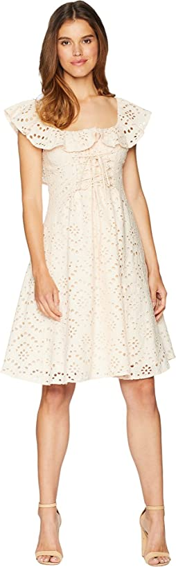 ASTR the label Women's Cassidy Off The Shoulder Fit & Flare Dress