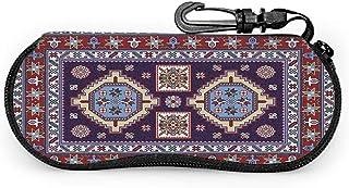 Tinmun Jglasses Case Colorful Mosaic Oriental Shirvan Traditional Case