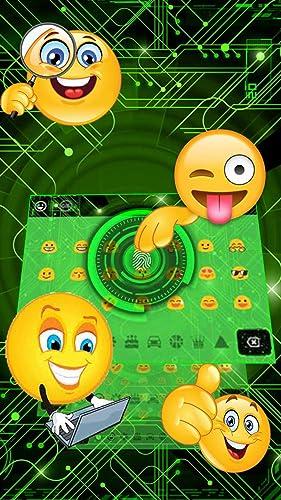 3D Fingerprint Scanner Keyboard Theme