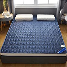 Premium Quilted Fitted Mattress Pad,Cooling and Breathable Mattress Toppers 1.8M Foldable Tatami Student Dormitory Mattress