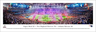 Super Bowl 2017 Champions - New England Patriots - Blakeway Panoramas NFL Posters