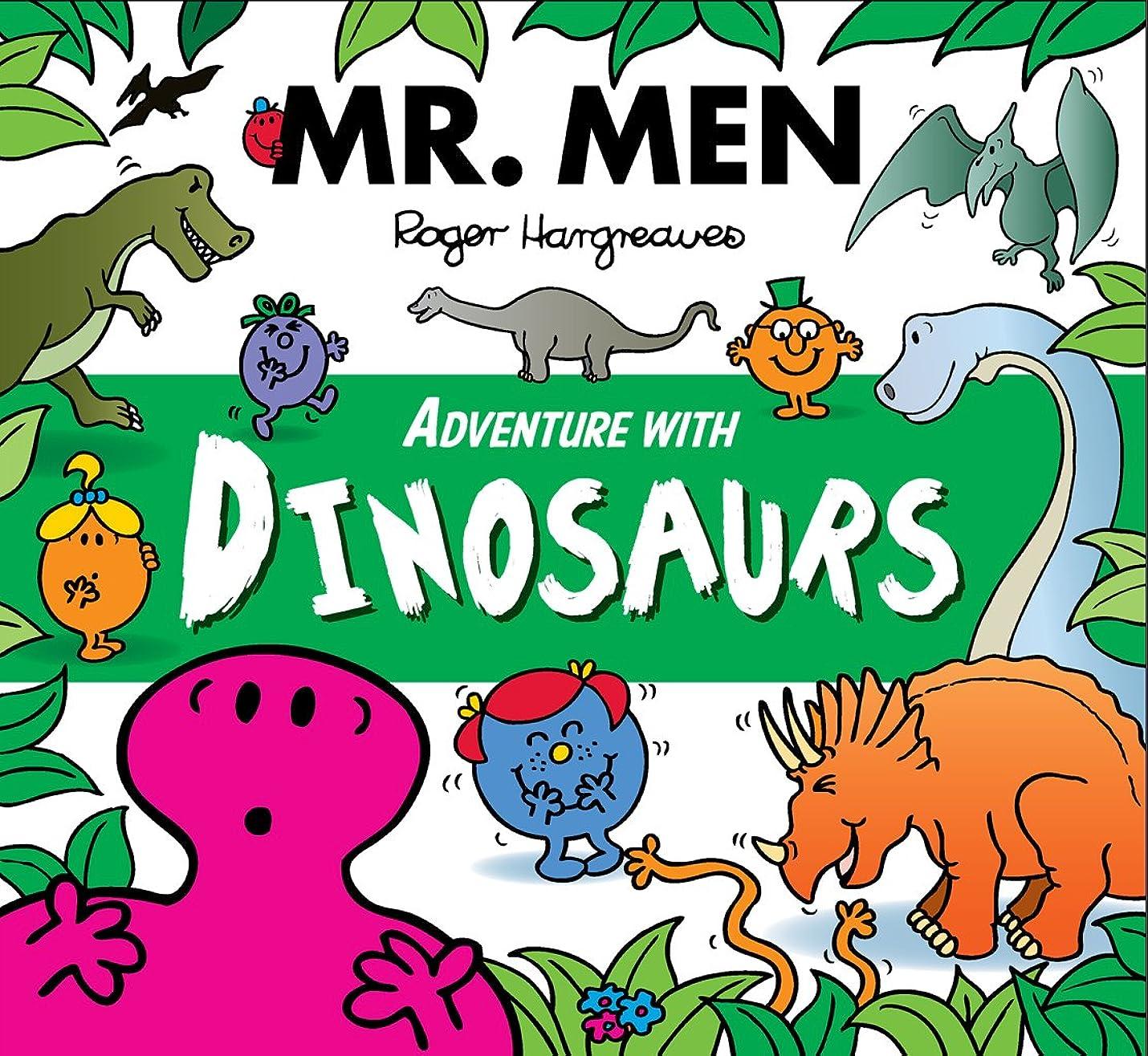 品揃えもっと不適切なMr. Men Adventure with Dinosaurs (Mr. Men and Little Miss Adventures) (English Edition)
