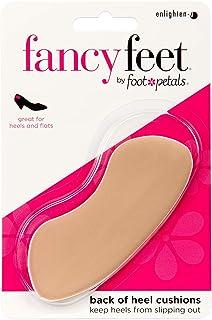 Foot Petals Unisex-Adult Back Heel Cushion, 3 Pair