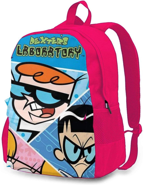 Award Teens Adults Dexter's Laboratory Travel San Jose Mall Anime Backpack Daypacks