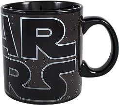 Star Wars SV5734HB Silver Buffalo SV5734H Logo Heat Reveal Ceramic Mug, 20-Ounce, 20 oz