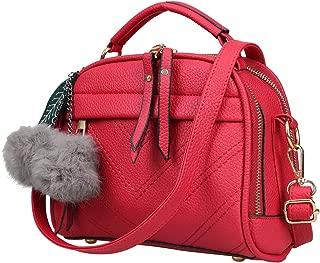 Fantastic Zone Women Leather Handbags Shoulder Bags Top-handle Tote Ladies Bags