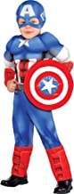Suit Yourself Classic Captain America Muscle Halloween Costume for Toddler Boys, Includes Headpiece