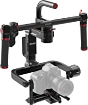 MOZA Lite II Premium Kit 3-Axis Motorized Handheld Gimbal Brushless Stabilizer Support Max.Payload 11lb/5kg for Blackmagic Series,Panasonic Lumix Series,Canon EOS Series,Sony a7 Series,Nikon D Series
