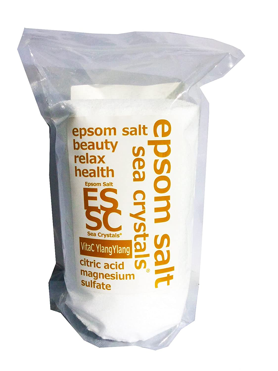 脚本家ファブリック意見【Amazon.co.jp 限定】エプソムソルト 2.2kg イランイランの香り ビタミンC配合 計量スプーン付