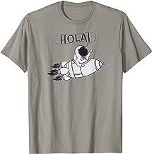 Hola Rocket Astronaut T-Shirt - Spanish Foreign Language
