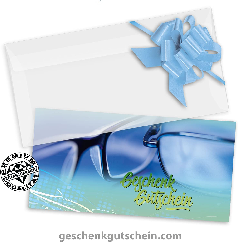 25 Stk. Premium Geschenkgutscheine Gutscheine zum Falten MultiFarbe   25 Stk. KuGrüns  25 Stk. Schleifen für Optiker, Brillenhändler, Brillenfachgeschäft OP252, LIEFERZEIT 2 bis 4 Werktage  B06Y15VJCD   | Stabile Qualität