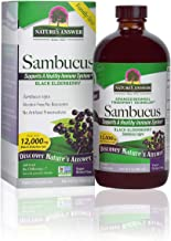 Nature's Answer Sambucus Dietary Supplement, Original for Daily Immune and Antioxidant Support   Made in The USA   Alcohol...